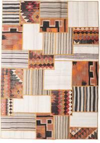 Tekkeh キリム 絨毯 160X228 モダン 手織り 薄茶色/ベージュ (ウール, ペルシャ/イラン)