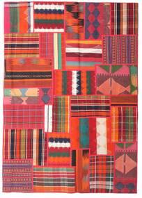 Tekkeh キリム 絨毯 162X230 モダン 手織り 赤/錆色 (ウール, ペルシャ/イラン)