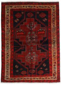 ロリ 絨毯 156X211 オリエンタル 手織り 濃い茶色/深紅色の (ウール, ペルシャ/イラン)