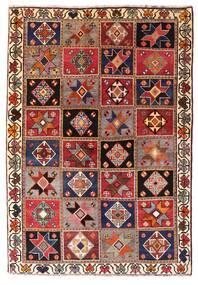 カシュガイ 絨毯 136X197 オリエンタル 手織り 深紅色の/濃い茶色 (ウール, ペルシャ/イラン)