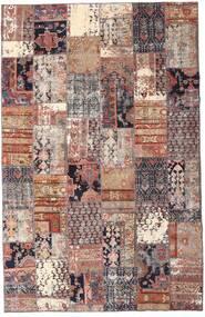 パッチワーク - Persien/Iran 絨毯 195X298 モダン 手織り 深紅色の/ベージュ (ウール, ペルシャ/イラン)