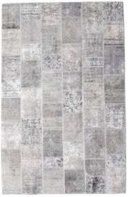 パッチワーク - Persien/Iran 絨毯 196X301 モダン 手織り 薄い灰色/ホワイト/クリーム色 (ウール, ペルシャ/イラン)