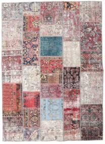 パッチワーク - Persien/Iran 絨毯 173X239 モダン 手織り 薄い灰色/薄紫色 (ウール, ペルシャ/イラン)