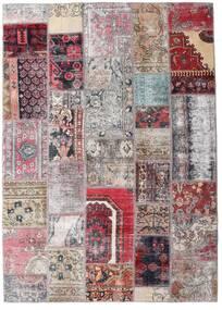 パッチワーク - Persien/Iran 絨毯 172X242 モダン 手織り 薄い灰色/ライトピンク (ウール, ペルシャ/イラン)
