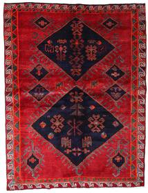 ロリ 絨毯 172X226 オリエンタル 手織り 赤/濃い紫 (ウール, ペルシャ/イラン)