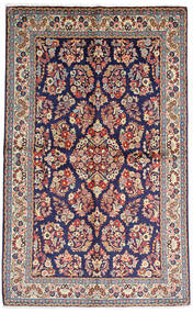 サルーク Sherkat Farsh 絨毯 136X216 オリエンタル 手織り 濃い紫/薄い灰色 (ウール, ペルシャ/イラン)