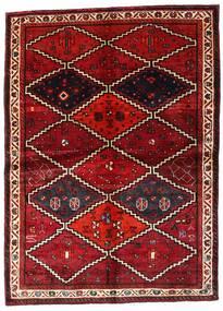 ロリ 絨毯 162X224 オリエンタル 手織り 深紅色の (ウール, ペルシャ/イラン)