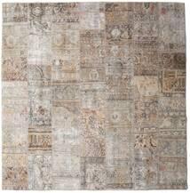 パッチワーク - Persien/Iran 絨毯 252X256 モダン 手織り 正方形 薄い灰色 大きな (ウール, ペルシャ/イラン)