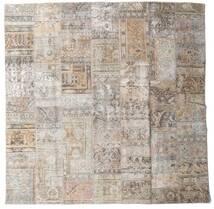 パッチワーク - Persien/Iran 絨毯 250X253 モダン 手織り 正方形 薄い灰色 大きな (ウール, ペルシャ/イラン)