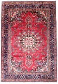 マシュハド 絨毯 203X290 オリエンタル 手織り 濃い紫/ピンク (ウール, ペルシャ/イラン)