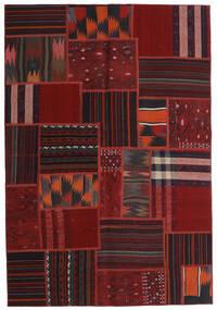 Tekkeh キリム 絨毯 138X201 モダン 手織り 深紅色の (ウール, ペルシャ/イラン)