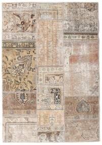 パッチワーク - Persien/Iran 絨毯 108X156 モダン 手織り 薄い灰色/ホワイト/クリーム色 (ウール, ペルシャ/イラン)