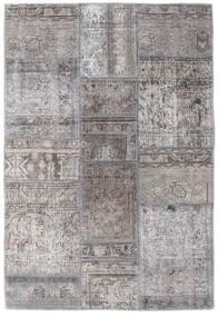 パッチワーク - Persien/Iran 絨毯 105X159 モダン 手織り 薄い灰色/濃いグレー (ウール, ペルシャ/イラン)