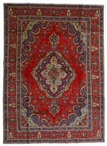 タブリーズ 絨毯 300X408 オリエンタル 手織り 深紅色の/濃いグレー 大きな (ウール, ペルシャ/イラン)