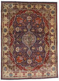 カシュマール 絨毯 294X396 オリエンタル 手織り 深紅色の/濃い茶色/薄茶色 大きな (ウール, ペルシャ/イラン)