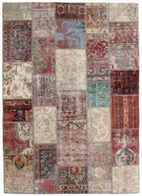 パッチワーク - Persien/Iran 絨毯 170X241 モダン 手織り 薄い灰色/茶 (ウール, ペルシャ/イラン)