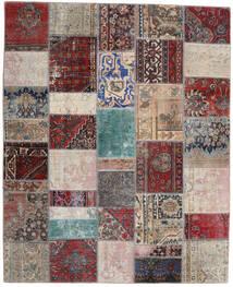 パッチワーク - Persien/Iran 絨毯 200X246 モダン 手織り 薄い灰色/深紅色の (ウール, ペルシャ/イラン)