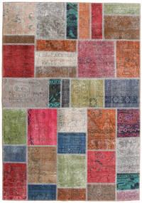 パッチワーク - Persien/Iran 絨毯 163X234 モダン 手織り 薄い灰色/錆色 (ウール, ペルシャ/イラン)