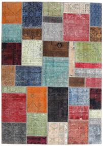 パッチワーク - Persien/Iran 絨毯 170X242 モダン 手織り ライトグリーン/濃いグレー (ウール, ペルシャ/イラン)