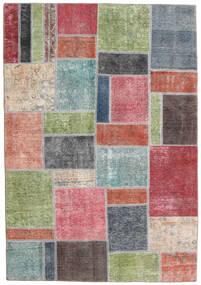 パッチワーク - Persien/Iran 絨毯 167X240 モダン 手織り ライトグリーン/濃いグレー (ウール, ペルシャ/イラン)