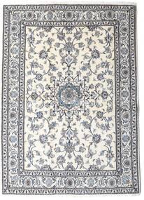 ナイン 絨毯 167X230 オリエンタル 手織り 薄い灰色/ベージュ (ウール, ペルシャ/イラン)