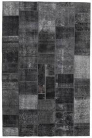 パッチワーク - Persien/Iran 絨毯 200X303 モダン 手織り 濃いグレー (ウール, ペルシャ/イラン)