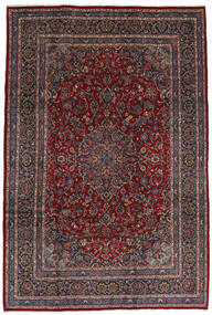 マシュハド 絨毯 210X310 オリエンタル 手織り 深紅色の/黒 (ウール, ペルシャ/イラン)
