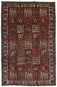 バクティアリ 絨毯 204X312 オリエンタル 手織り 深紅色の/黒 (ウール, ペルシャ/イラン)