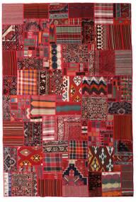 Tekkeh キリム 絨毯 200X300 モダン 手織り 深紅色の/濃い茶色 (ウール, ペルシャ/イラン)