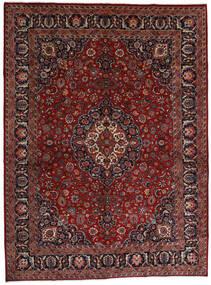マシュハド 絨毯 289X390 オリエンタル 手織り 深紅色の/濃いグレー 大きな (ウール, ペルシャ/イラン)