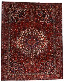 バクティアリ 絨毯 277X356 オリエンタル 手織り 深紅色の/濃い茶色 大きな (ウール, ペルシャ/イラン)