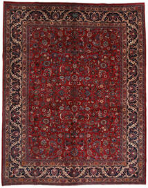 マシュハド 絨毯 292X373 オリエンタル 手織り 深紅色の/黒 大きな (ウール, ペルシャ/イラン)