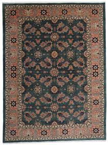 アルデビル 絨毯 295X393 オリエンタル 手織り 黒/深紅色の 大きな (ウール, ペルシャ/イラン)