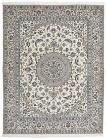 ナイン 9La 絨毯 202X257 オリエンタル 手織り (ウール/絹, ペルシャ/イラン)