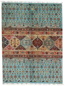 Shabargan 絨毯 151X197 モダン 手織り 濃い茶色/深紅色の (ウール, アフガニスタン)