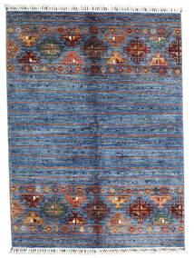Shabargan 絨毯 153X204 モダン 手織り 青/水色 (ウール, アフガニスタン)
