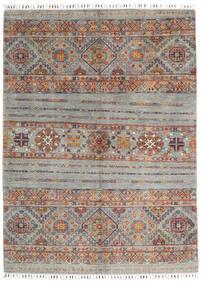 Shabargan 絨毯 150X204 モダン 手織り 薄い灰色/濃いグレー (ウール, アフガニスタン)