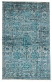 Mirage 絨毯 99X163 モダン 手織り 青/ターコイズ (ウール, アフガニスタン)