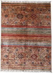 Shabargan 絨毯 148X199 モダン 手織り 濃い茶色/深紅色の (ウール, アフガニスタン)