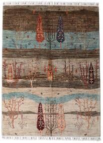 Shabargan 絨毯 150X201 モダン 手織り 薄い灰色/茶/濃い茶色 (ウール, アフガニスタン)