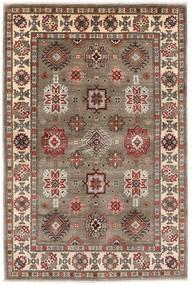 カザック 絨毯 121X181 オリエンタル 手織り 薄い灰色/薄茶色 (ウール, アフガニスタン)