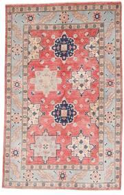 カザック 絨毯 121X190 オリエンタル 手織り 薄い灰色/ライトピンク (ウール, アフガニスタン)
