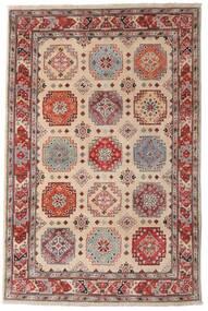 カザック 絨毯 118X179 オリエンタル 手織り 濃い茶色/薄い灰色 (ウール, アフガニスタン)