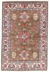 カザック 絨毯 119X179 オリエンタル 手織り 茶/薄い灰色 (ウール, アフガニスタン)