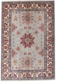 カザック 絨毯 121X179 オリエンタル 手織り 薄い灰色/濃い茶色 (ウール, アフガニスタン)