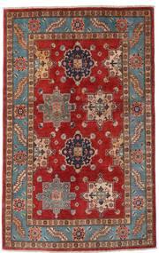 カザック 絨毯 118X188 オリエンタル 手織り 深紅色の/濃い茶色 (ウール, アフガニスタン)