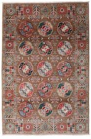カザック 絨毯 117X176 オリエンタル 手織り 深紅色の/濃い茶色 (ウール, アフガニスタン)