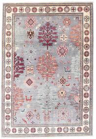 カザック 絨毯 120X176 オリエンタル 手織り 薄紫色/ライトピンク (ウール, アフガニスタン)