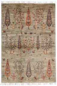 Mirage 絨毯 124X182 モダン 手織り 薄い灰色/濃い茶色 (ウール, アフガニスタン)