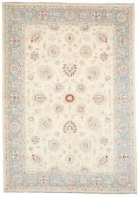 Ziegler Ariana 絨毯 207X294 オリエンタル 手織り ベージュ/薄い灰色 (ウール, アフガニスタン)